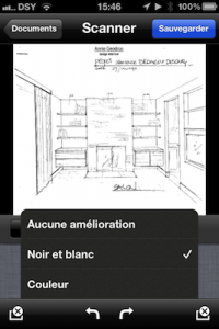Application pour scanner iPhone