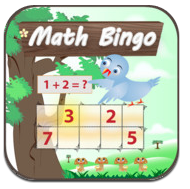 Math Bingo application ipad enfant