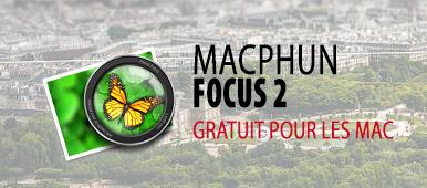 Illustration d'article suer L'utilitaire Focus 2 de MacPhun