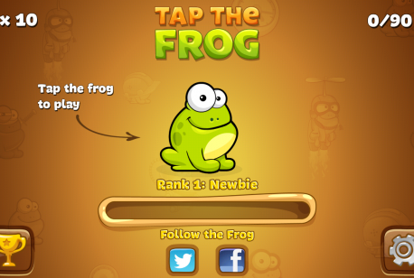Tap-the-Frog-debut