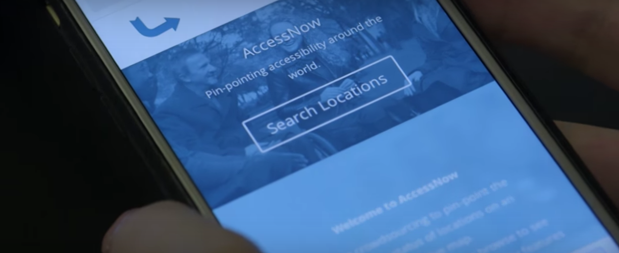 AccessNow application