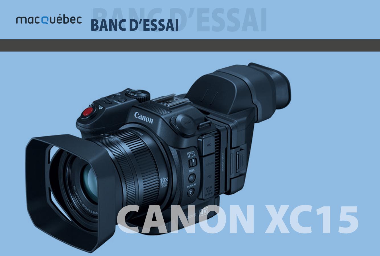 Image =illustrant l'article - Caméra XC15