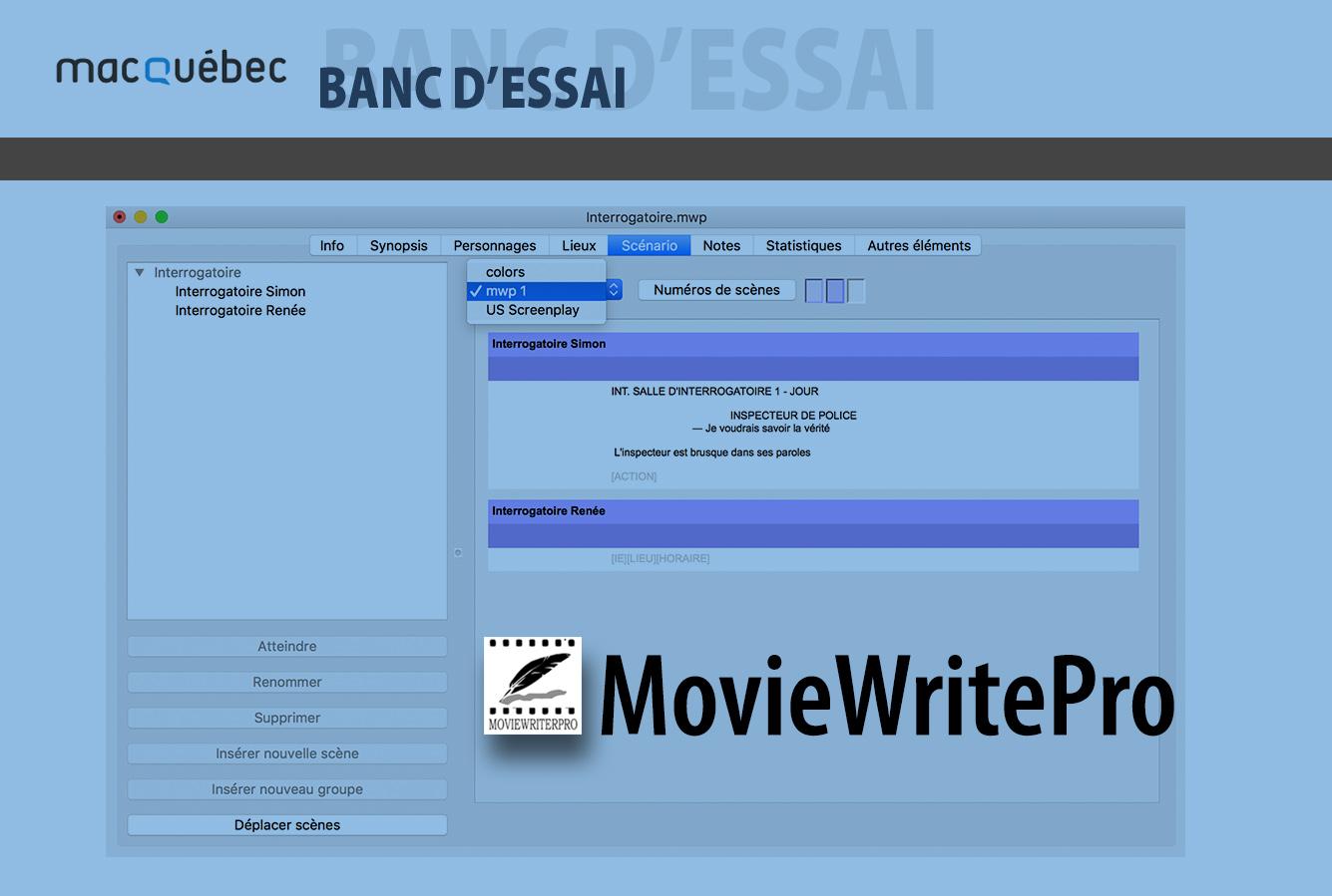 MovieWriterPro - illustration de l'article