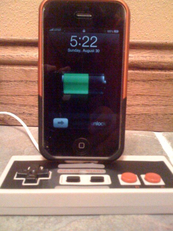 Nintendo dock iPhone