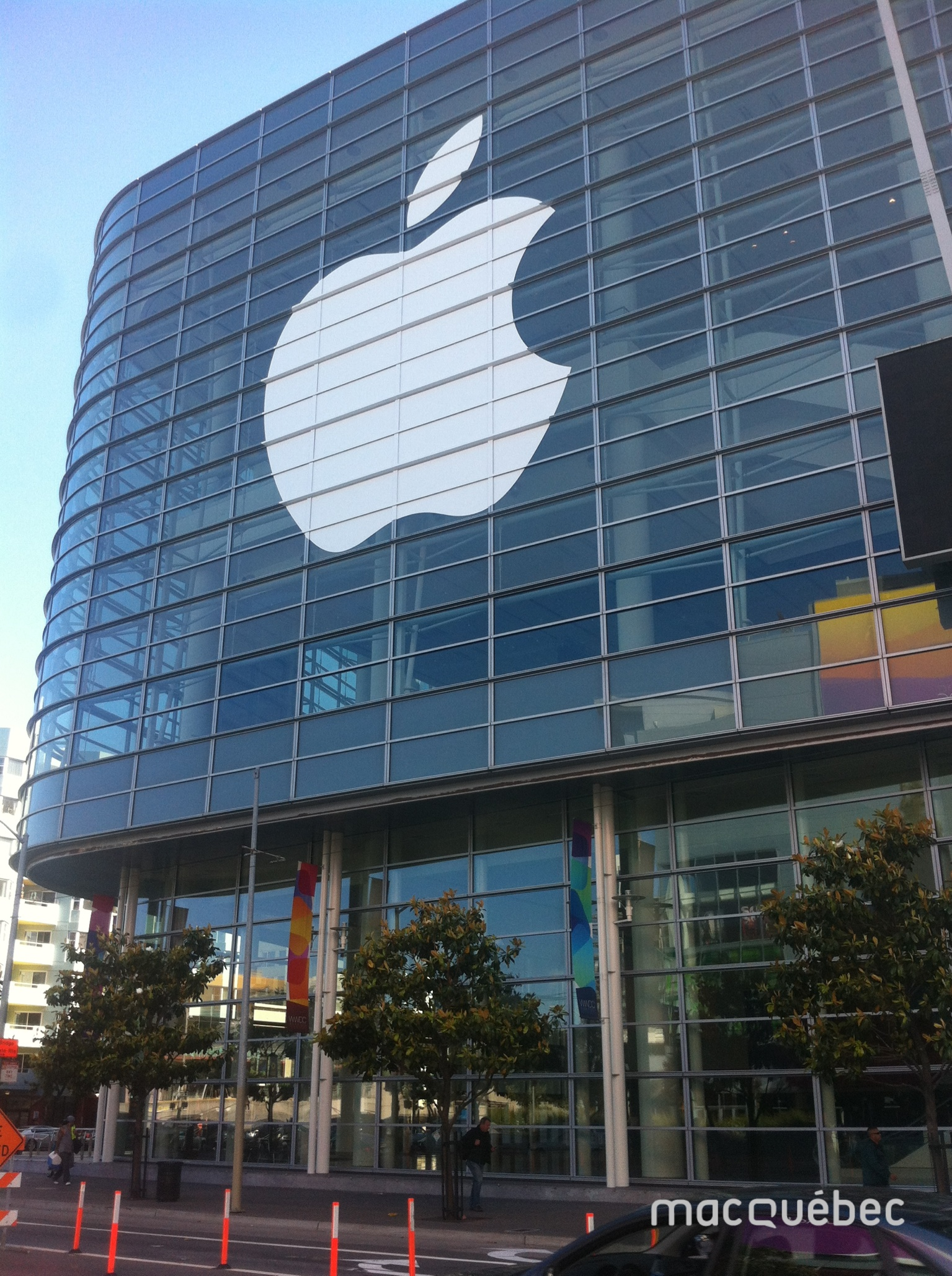 WWDC13_Moscone_Center_Exterieur