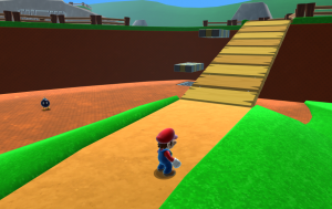 Supe Mario 54