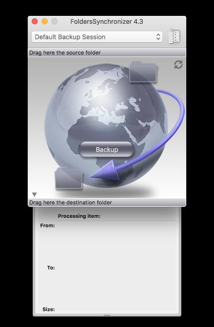 Folder Synchronizer : Sauvegardes