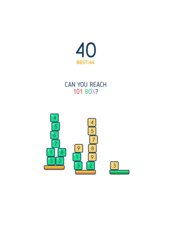 Pourrez-vous atteindre les 101 boites ?