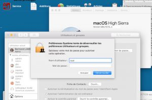 Faille Root macoOS 10.13.1