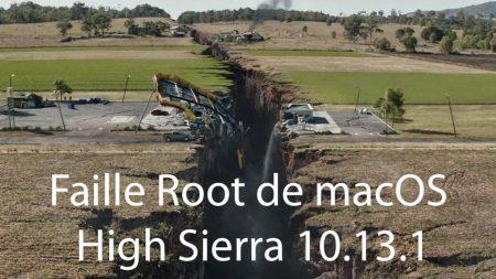 Faille macOS High Sierra 10.13.1
