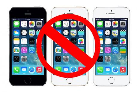 cellulaires interdit