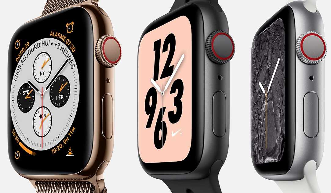 800834fe64e7e7 La nouvelle Apple Watch Série 4