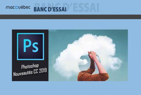 Image de l'article contient le logo du logiciel Photoshop et l'illustration de cette version récente
