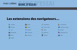 Ce montage photo illustre l'article sur les extension des navigateurs !