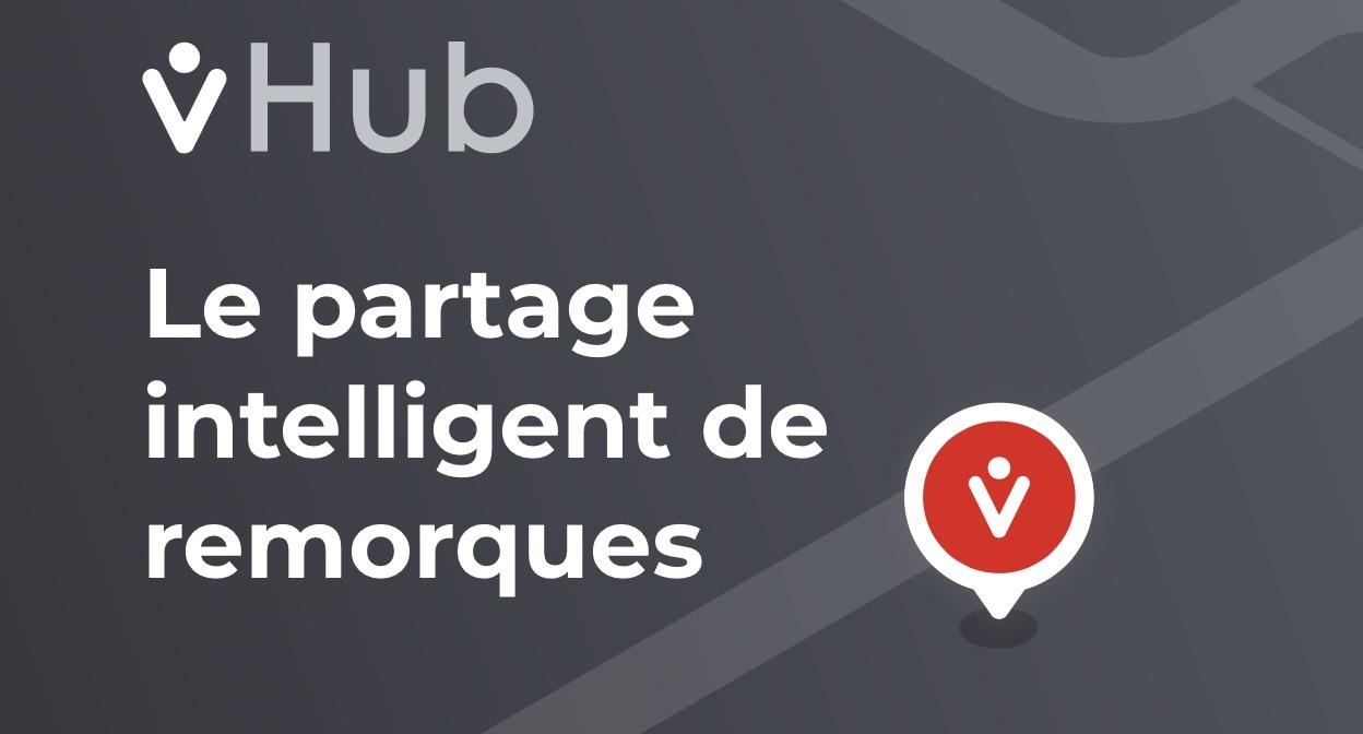 Image montrant la page web de l'application vHub