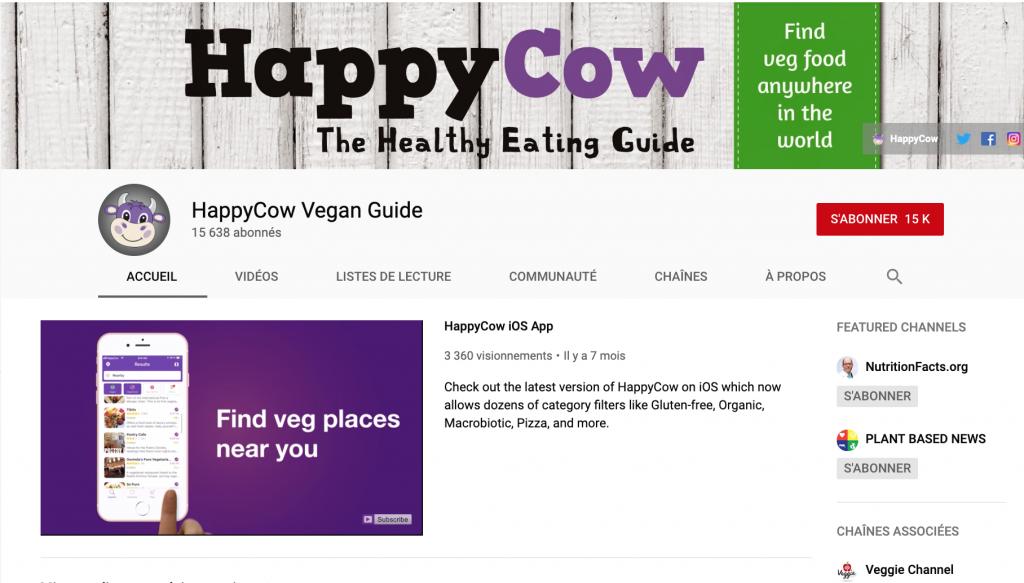 Youtube Happy Cow