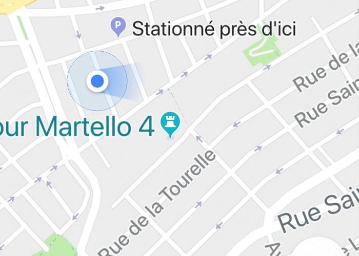 retrouver voiture google maps