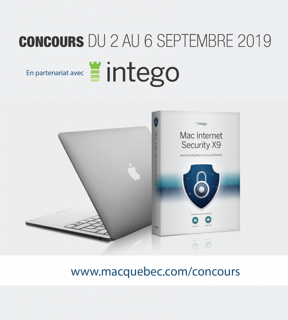 mac security internet intego concours
