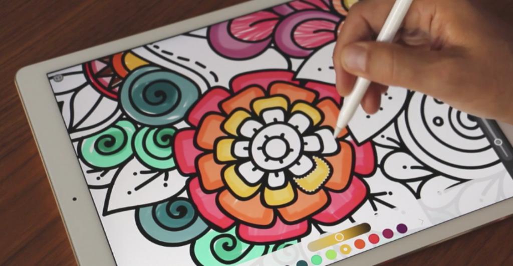Pigment – Coloriage pour adulte