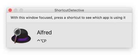 Image montrant le résultat de la recherche de ShortcutDetective
