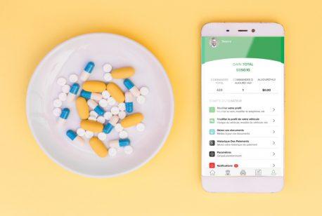 Livraison médicaments